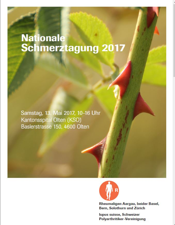 Nationale Schmerztagung 2017 1